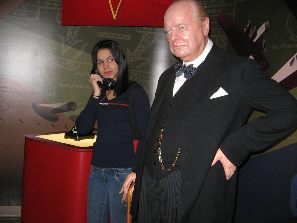 Madame Tussauds: Churchill