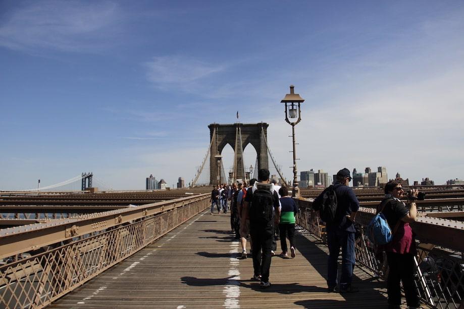 Nova York barato: ponte do Brooklyn