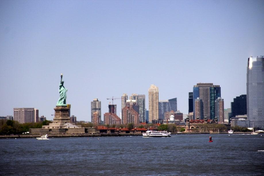 Nova York barato: Estátua da Liberdade de graça