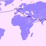 5 roteiros de volta ao mundo por até $4.600