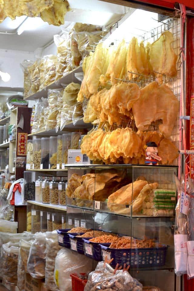 Barraca de rua - comida de hong Kong