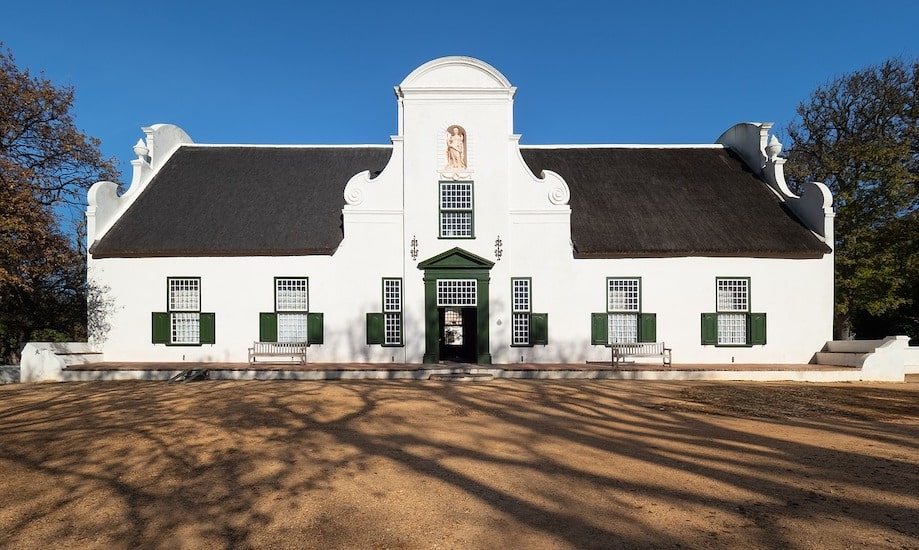 Constantia: Vinícola na África do Sul