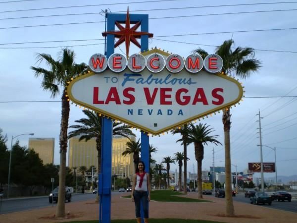 Placa Welcome to Las Vegas