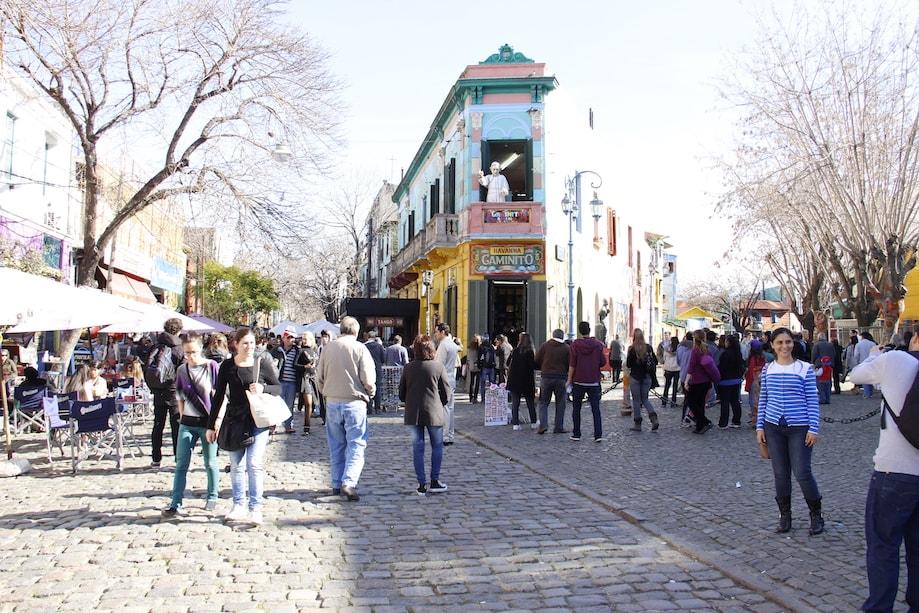 Final de semana em Buenos Aires: Caminito