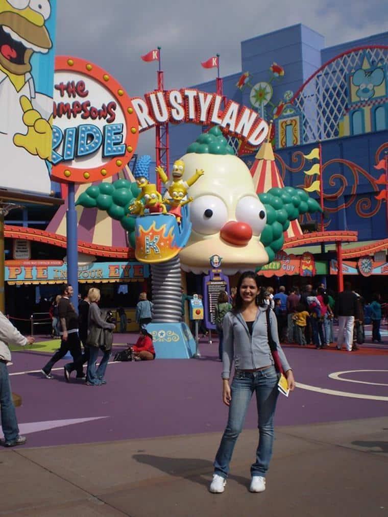 Universal Los Angeles, Simpsons Ride
