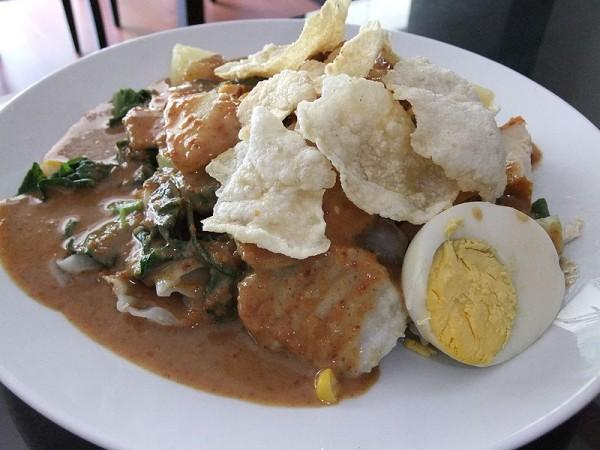 Gado gado - comida indonesia