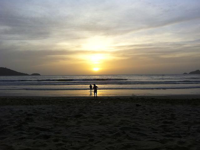 Por do sol em Phuket - Tailândia