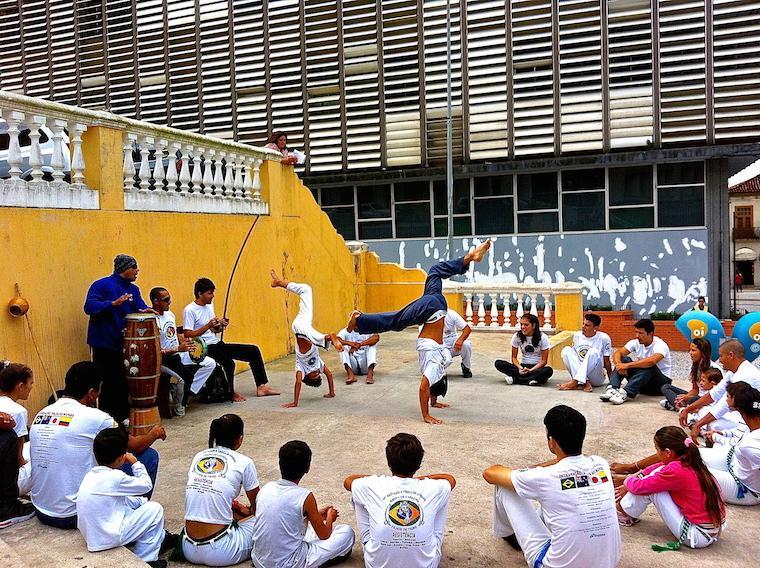 Capoeira em Florianópolis