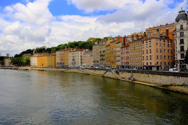 Lyon Rio Saône França