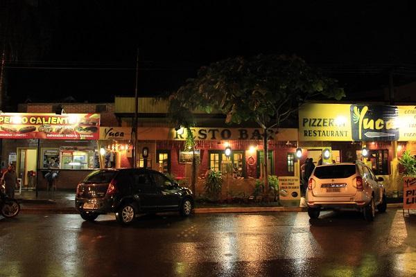 Noite em Puerto Iguazú