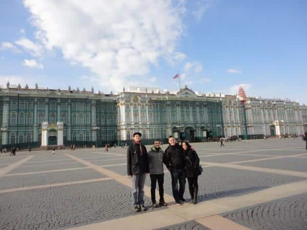 Palácio de Hermitage, Rússia
