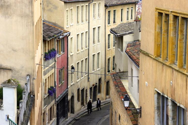 Rua em Lyon
