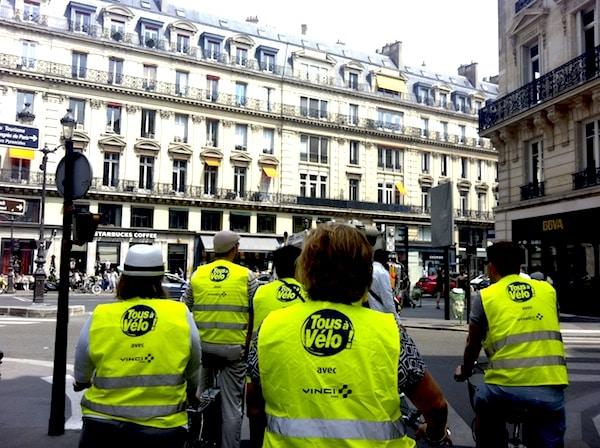 Tour de Bicicleta em Paris
