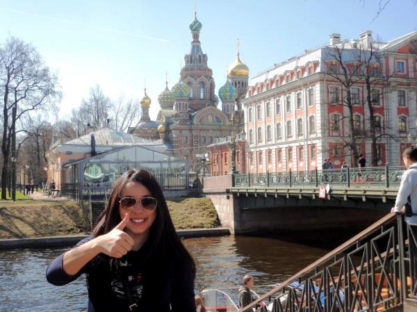Viagem para São Petesburgo, Rússia
