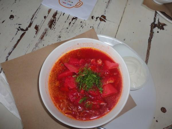 borsch, comida russa