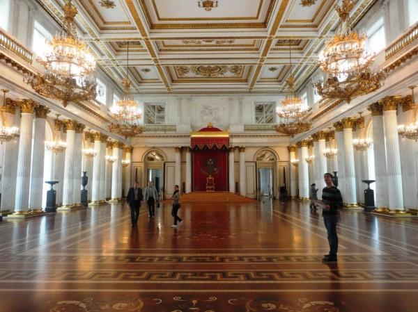 interior do palácio de hermitage