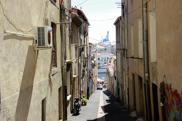 Ruas de Sète, França
