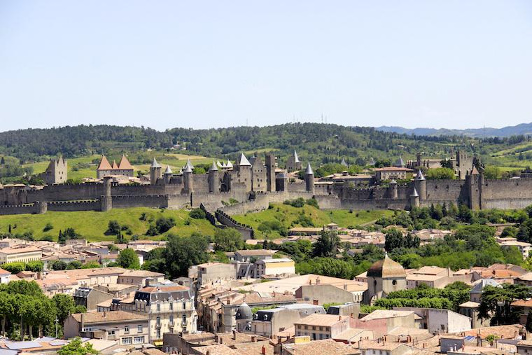 Carcassonne, Castelo na França