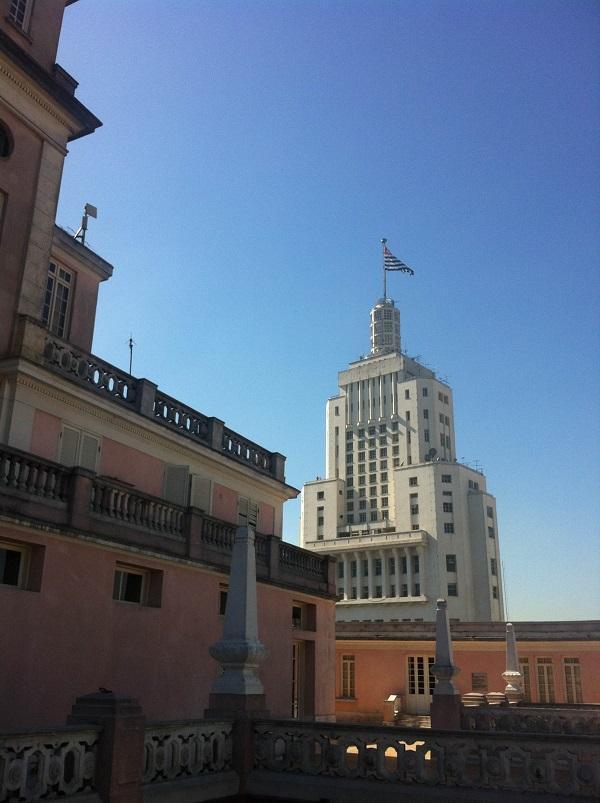 Mirante do Edifício Martinelli em SP