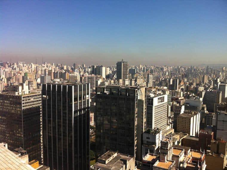 Mirante do Edifício Banespa - São Paulo