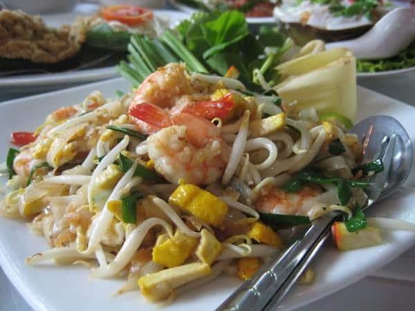 Pad Thai, culinária tailandesa