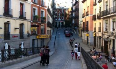 O dia que eu andei descalça em Madrid