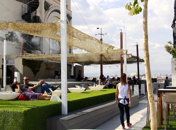 Madrid, Bar do Terraço Bellas Artes