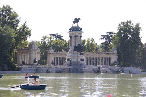 Parque do bom Retiro, Madrid