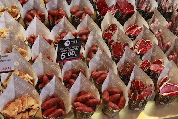 Petiscos em Madris - Mercado
