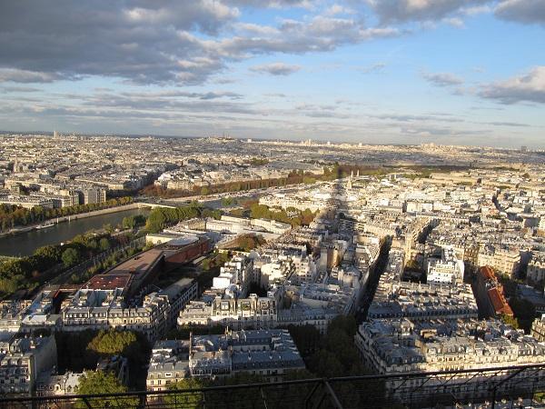 melhores vistas de Paris