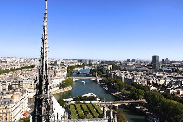 Notre-Dame: Uma das melhores vistas de Paris