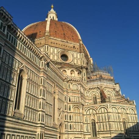 Duomo de Florença no Por do Sol