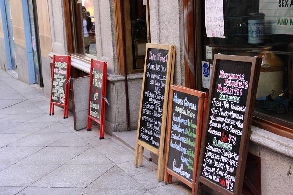 gastando pouco em Madrid