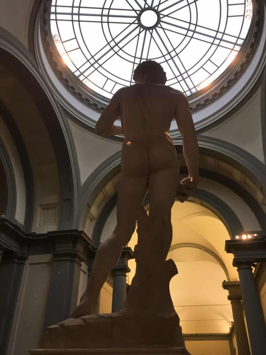 galeria della academia estatua de davi