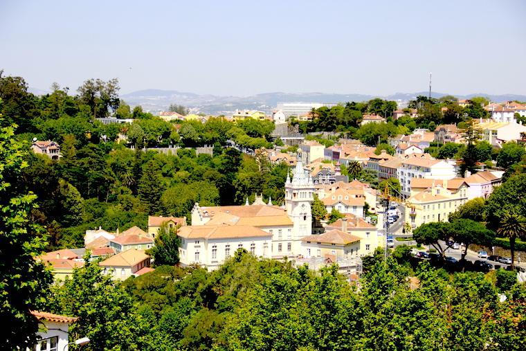 Vista de Sintra - Portugal