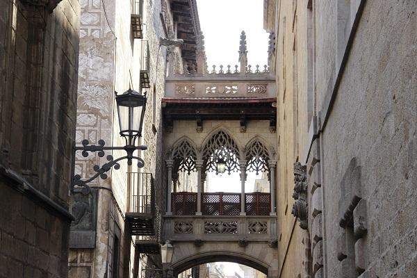 Foto Bairro Gótico de Barcelona