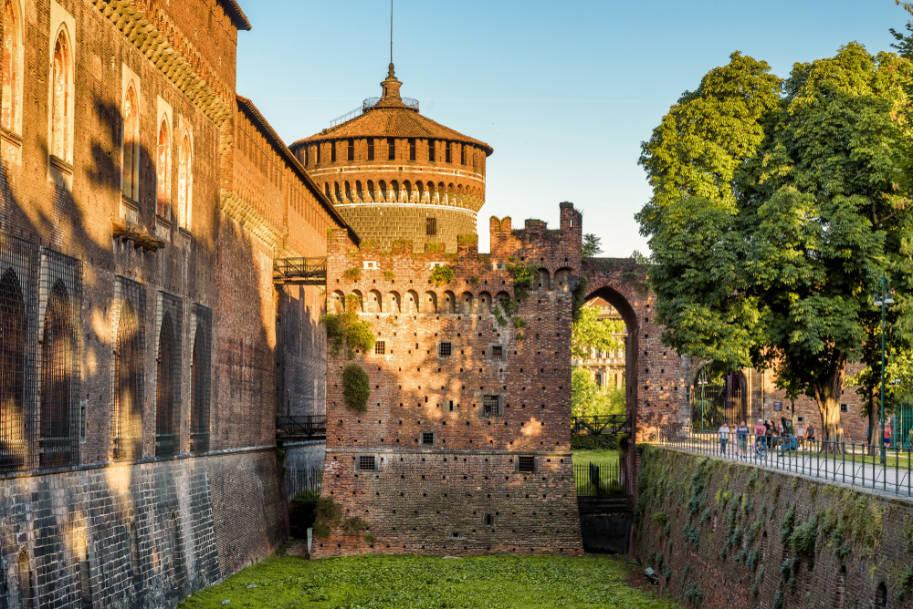 O que fazer em Milao Castelo Sforcezco