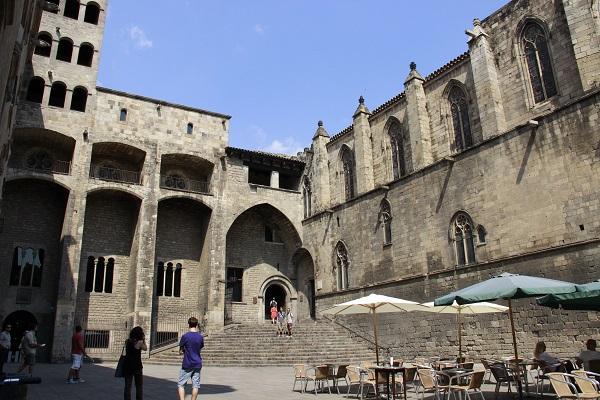 Plaça del Rei, Barcelona