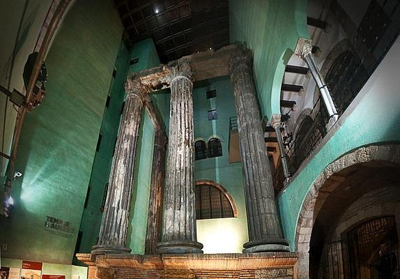 Templo de Augusto, Barcelona