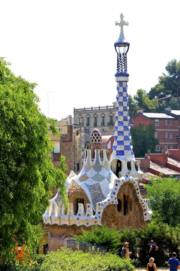 Torre Parc Guell, Barcelona