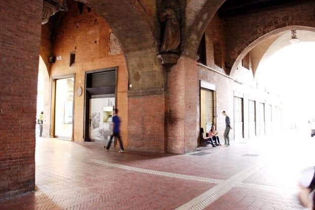 Arcos Podesta em Bolonha, Itália
