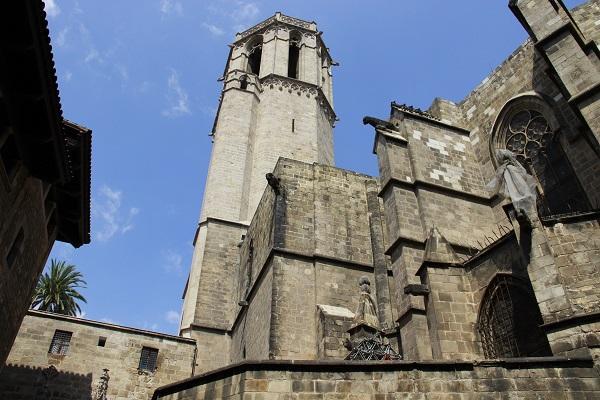 bairro gótico, atração de barcelona