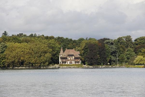mansões do Lago Genebra