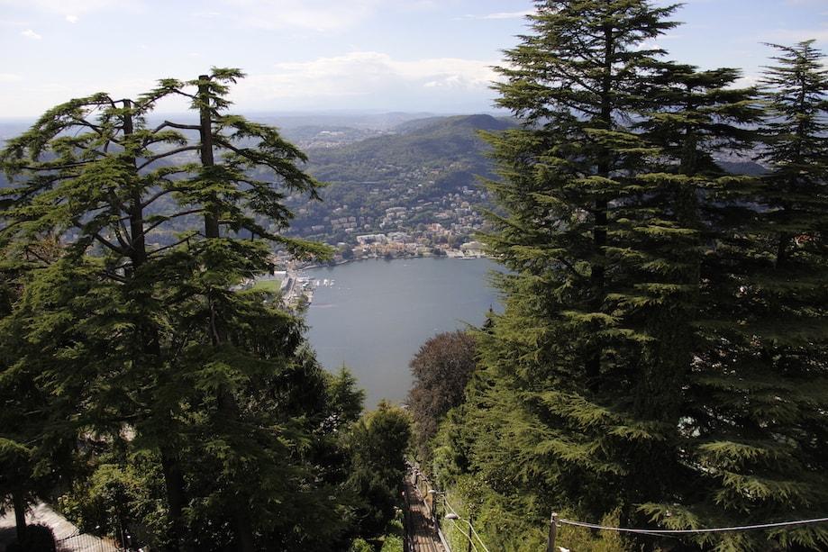 Lago di Como, Milão