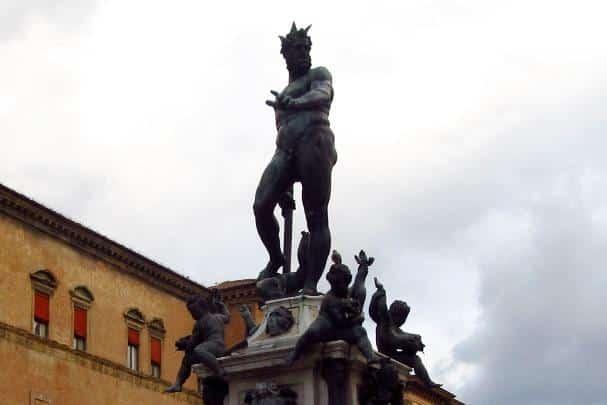 Netuno, Fonte em Bolonha