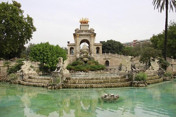 parque da cidadela, barcelona