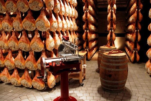 Presunto de Parma - Itália