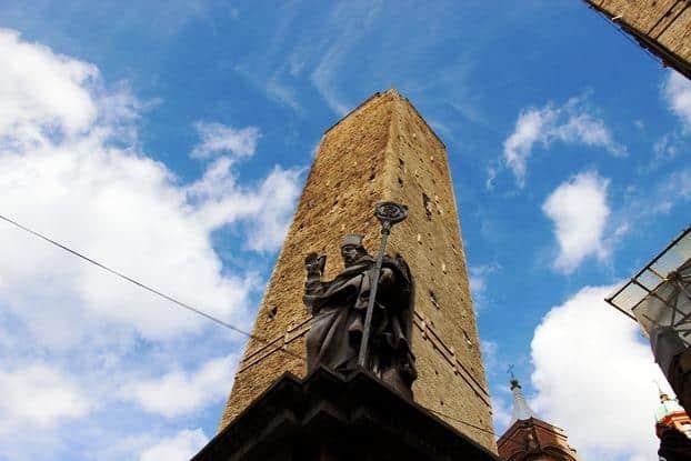 Torre Asinelli, em Bolonha