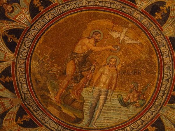 Mosaicos do Batistério Neoniano, em Ravena