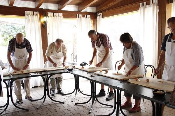 Aula de Culinária me Bolonha